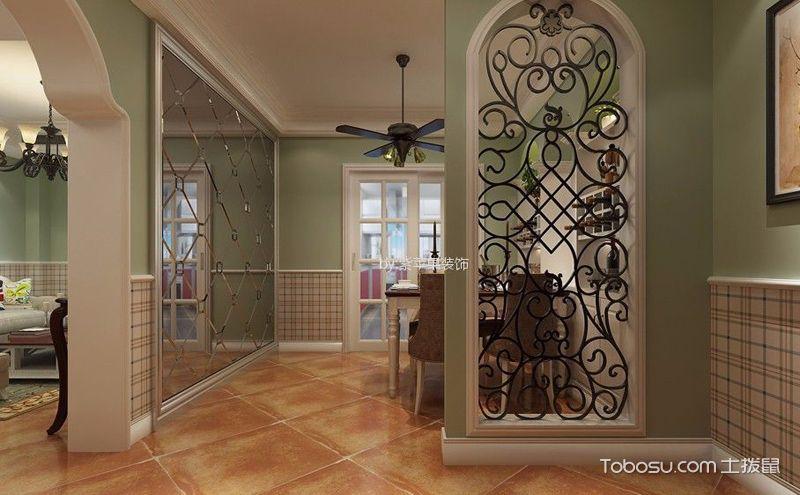 客厅玄关隔断装潢设计图,出奇制胜才经典