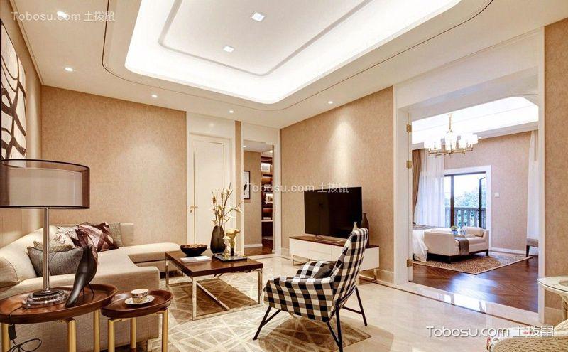 客厅样板间装潢图,不同风格的精彩演绎