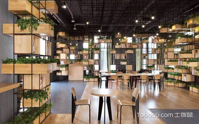 餐厅绿植摆放效果图赏析