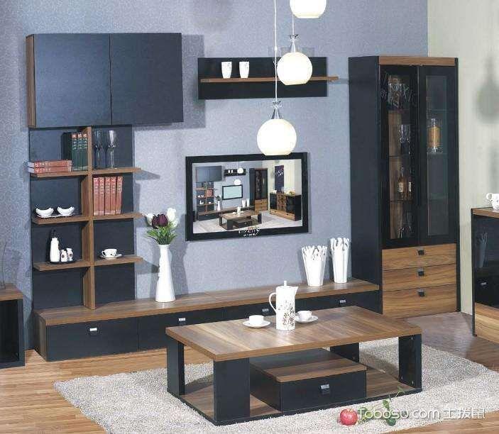 板式家具装潢效果图,简约风已逐渐成时尚图片