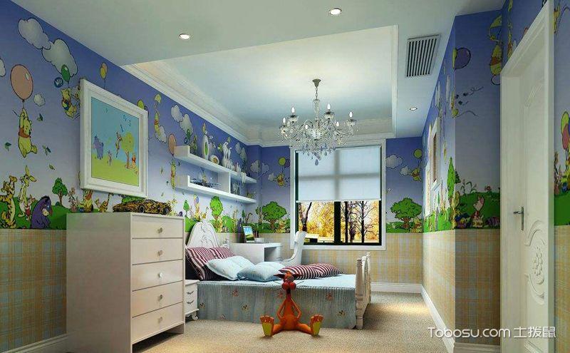 经典手绘墙设计图片,让家里多点艺术气息