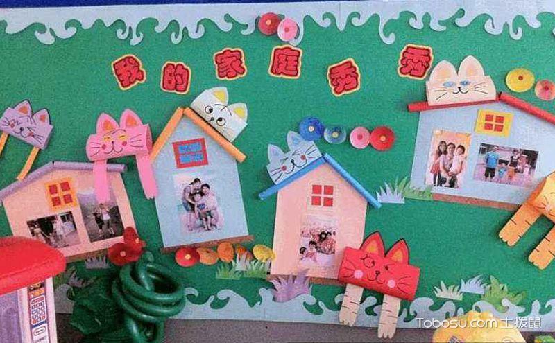 幼儿园主题墙饰平面图,让孩子看到更多美好