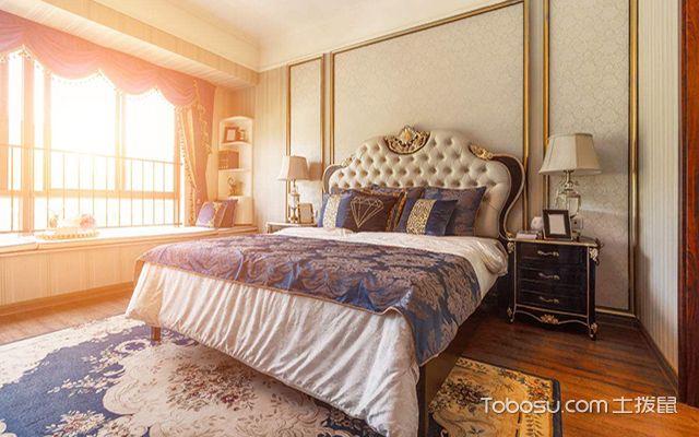 卧室床的风水布局之床靠墙摆放