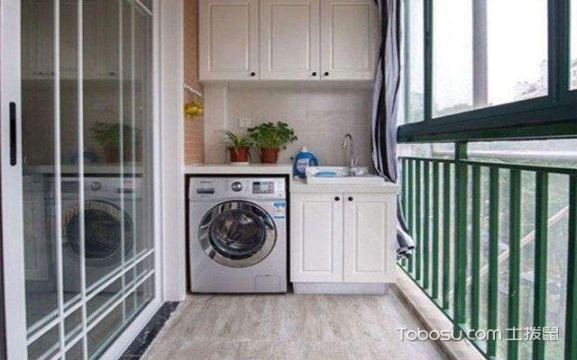 洗衣机放阳台排水走雨水管可以吗,洗衣机放阳台上如何