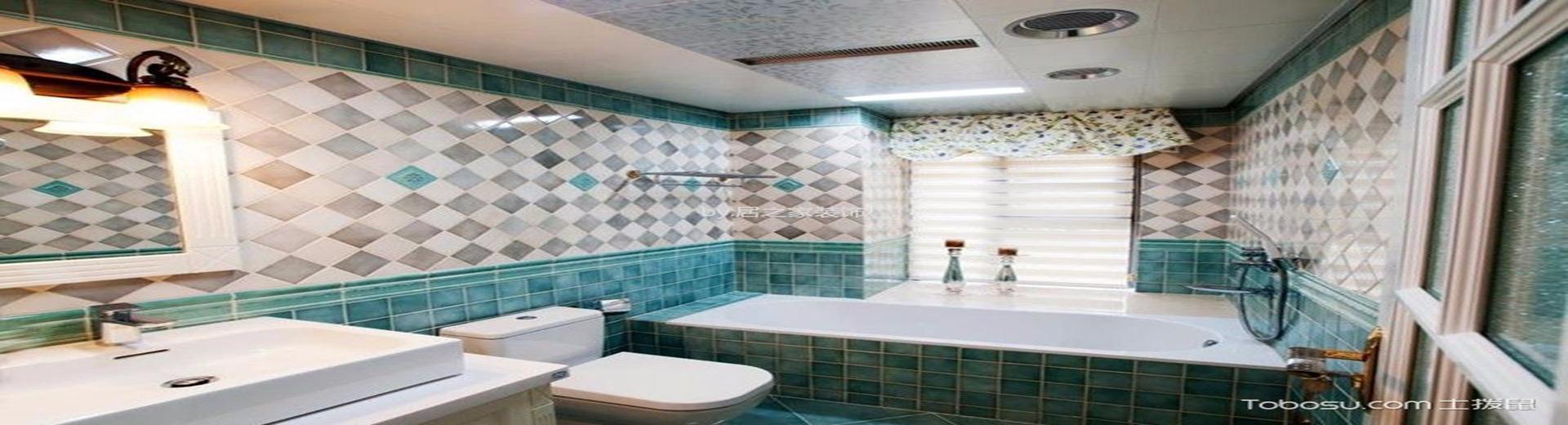 衛生間瓷磚效果圖,防水防潮更美觀