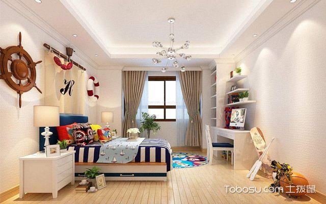 南京儿童房装修设计效果图赏析