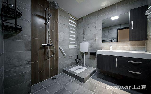 简约风格三室两厅—卫生间