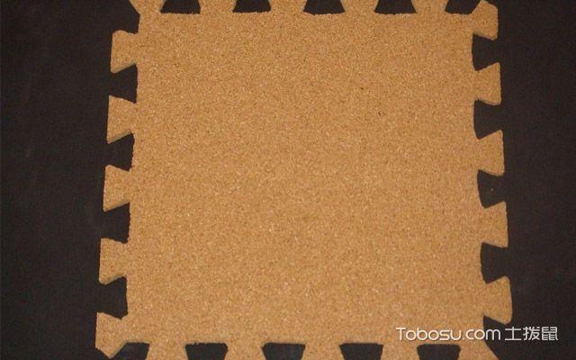 锁扣式软木地板安装方法