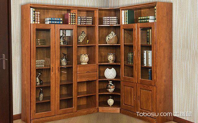 l型书柜放置风水介绍图片