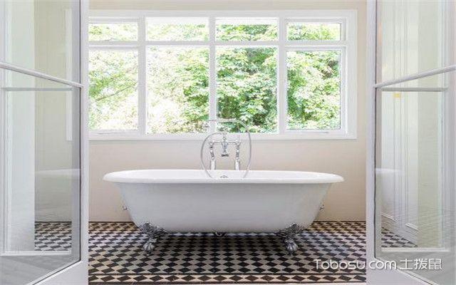 浴缸放在什么位置好之靠窗