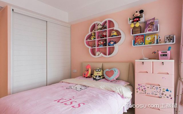 90平米三室两厅案例—儿童房