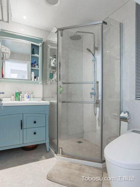 90平米三室两厅案例—卫生间