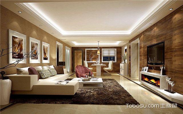 木地板上墙装修效果图之沙发