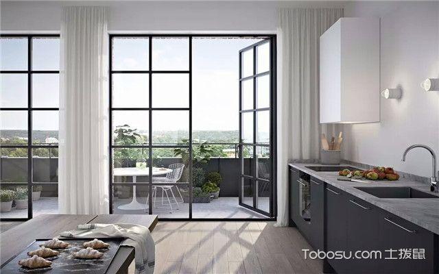 厨房与阳台相连风水禁忌之门帘挡煞