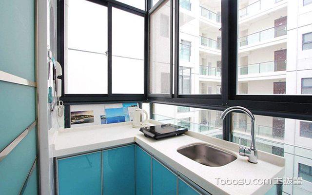 2米宽阳台改厨房注意事项解析