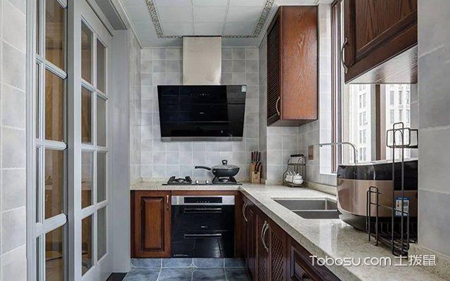 四种橱柜样式大解析之小厨房适合哪种橱柜样式