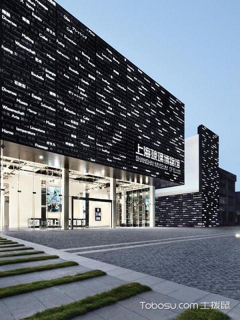 上海玻璃博物馆设计外部