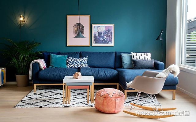 最容易学的家装配色方法之家装配色不超过三种