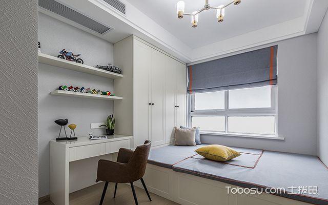 140平米三室两厅装修案例—榻榻米房