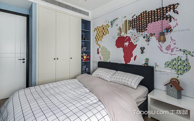 140平米三室两厅装修案例—儿童房