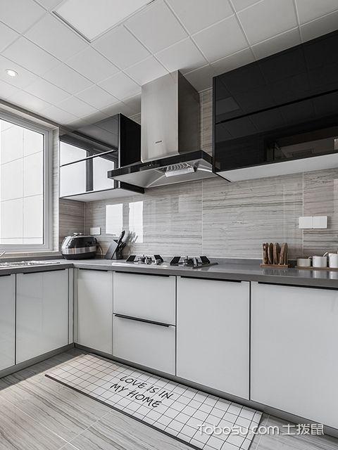 140平米三室两厅装修案例—厨房