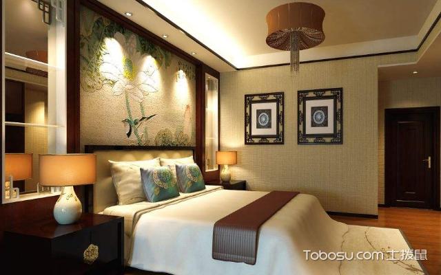 卧室床头墙装修效果图 风格