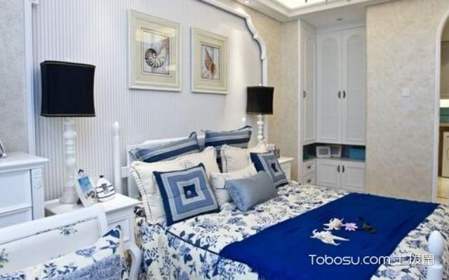 卧室床头墙装修效果图 赏析