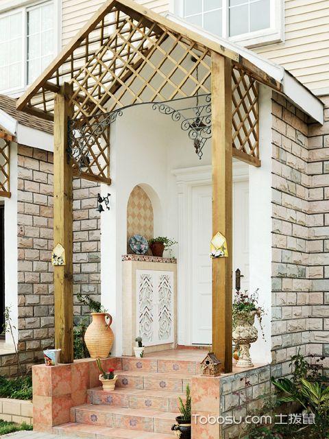 入户花园门装修效果图4