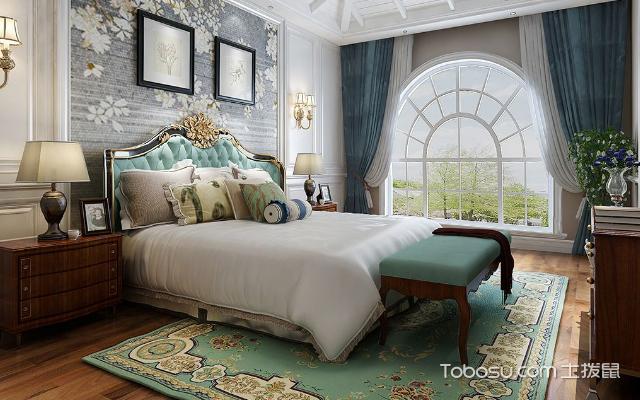 别墅主卧室内装修效果图 风格