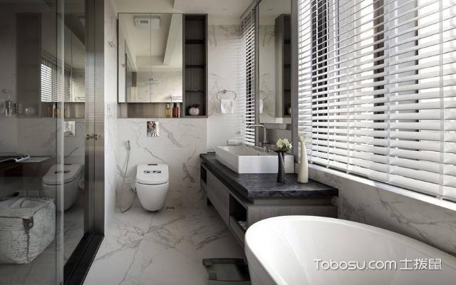 卫生间装修效果图欣赏 风格