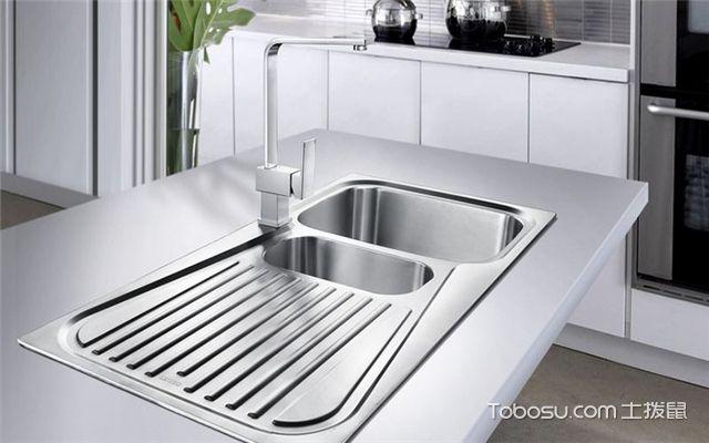 厨房水槽怎么安装