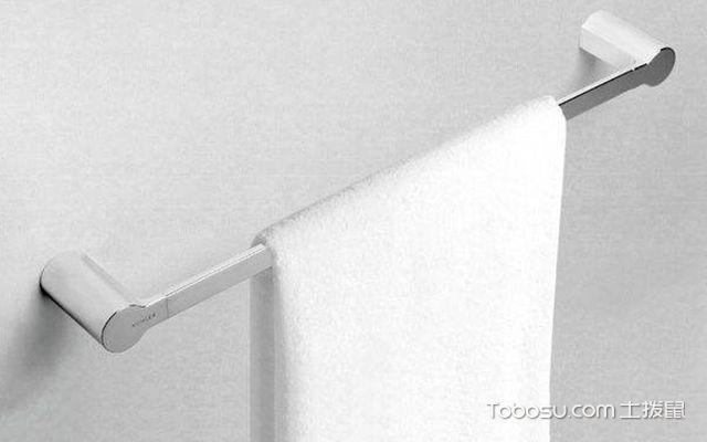 毛巾杆如何安装—毛巾杆1