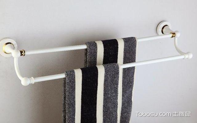 毛巾杆如何安装—毛巾杆4
