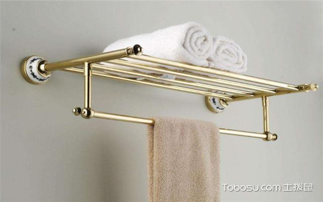 浴巾架如何安装之尺寸
