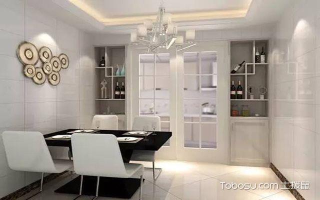 厨房门口酒柜装修要点之酒柜风格设计