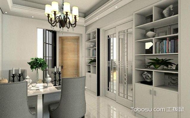 厨房门口酒柜装修要点之合理规划酒柜内部空间