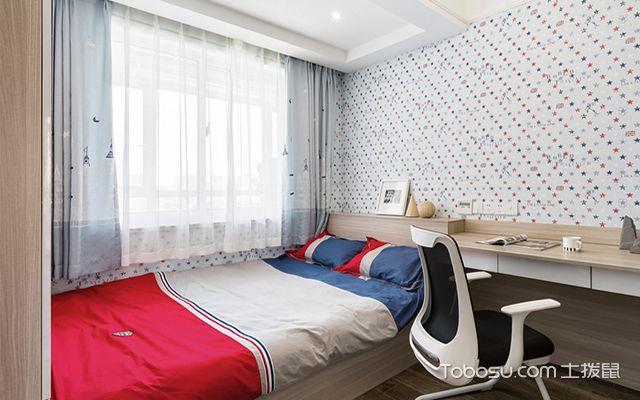 儿童卧室榻榻米装修图之北欧儿童房