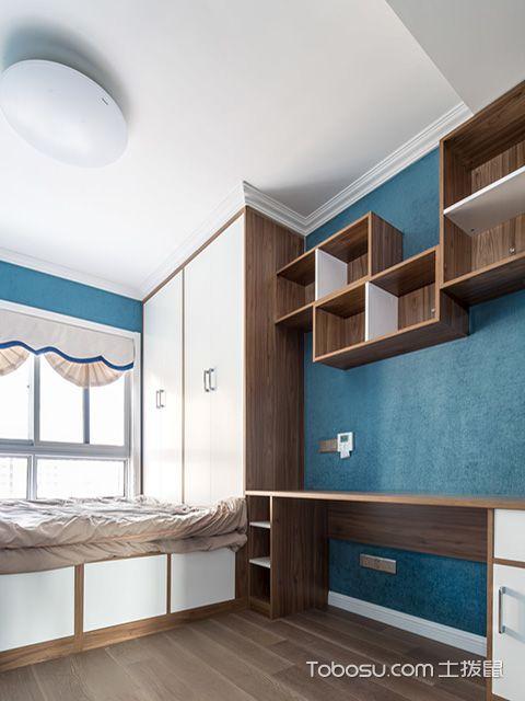 儿童卧室榻榻米装修图之现代儿童房