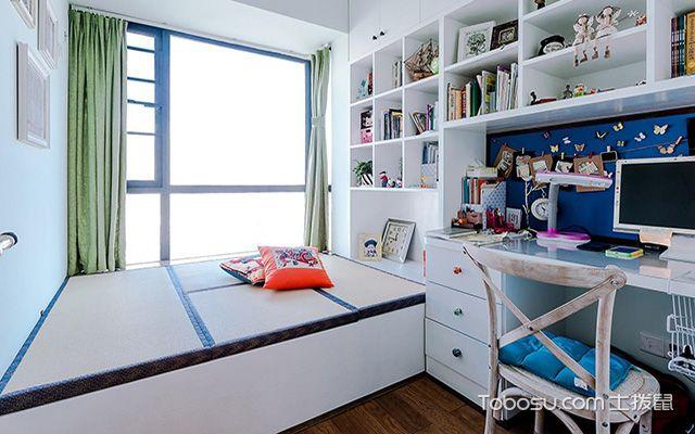 小书房榻榻米设计优点之设计风格很流行