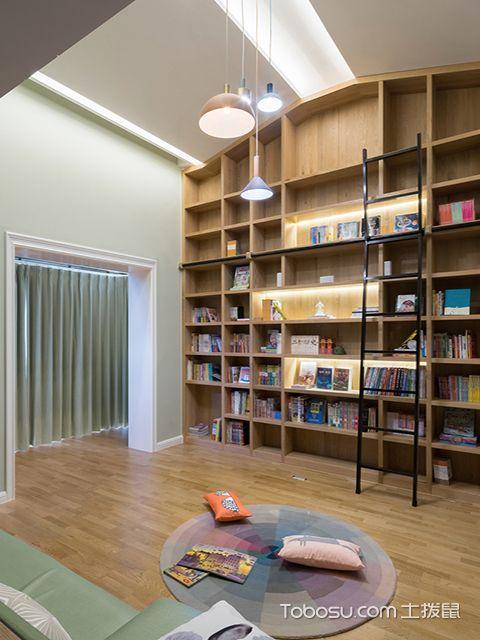 阁楼装修效果图之书房