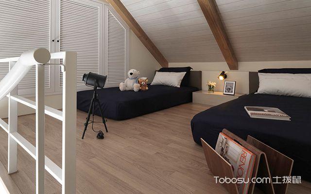 阁楼装修效果图之卧室