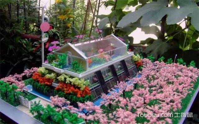 小型空中花园效果图