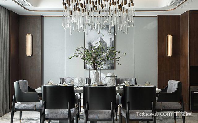 家庭餐厅装修案例—餐厅案例3
