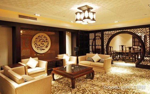 现代中式别墅装修