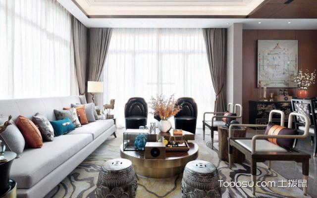 现代中式别墅装修 方法