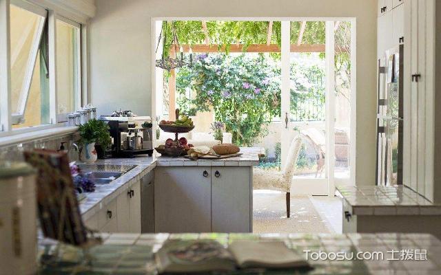 1米宽小阳台改厨房图