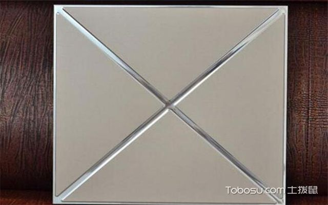 厨房吊顶用什么材料好之铝扣板