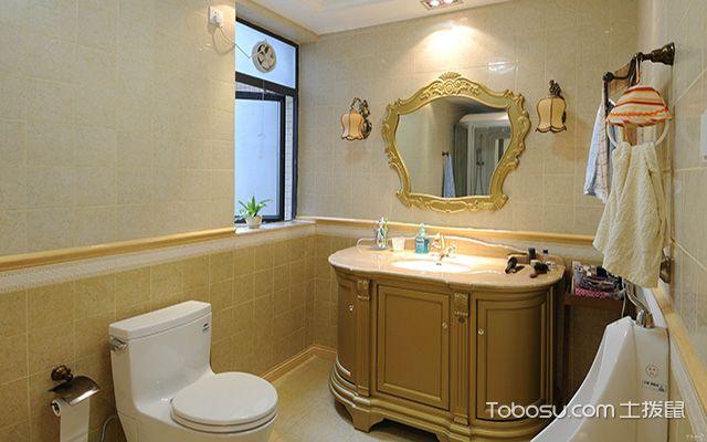 家庭卫浴间装修细节之卫浴间装修选择防潮材料