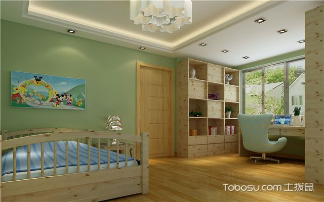 儿童房装修设计要点-色彩选择