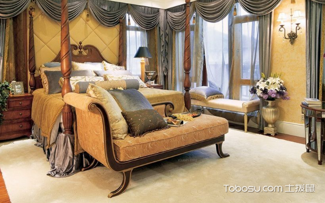 美式风格主卧室 案例